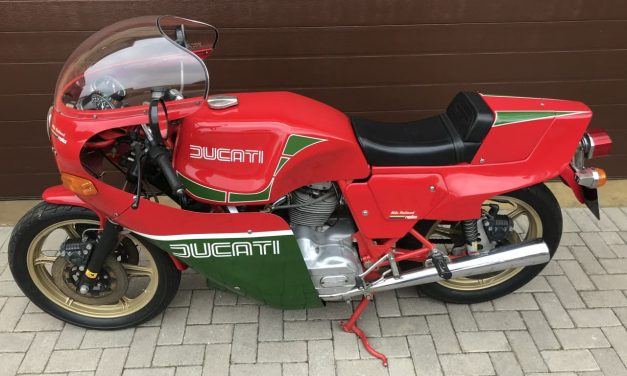 1982 DUCATI 900 MHR – Mike Hailwood Replica