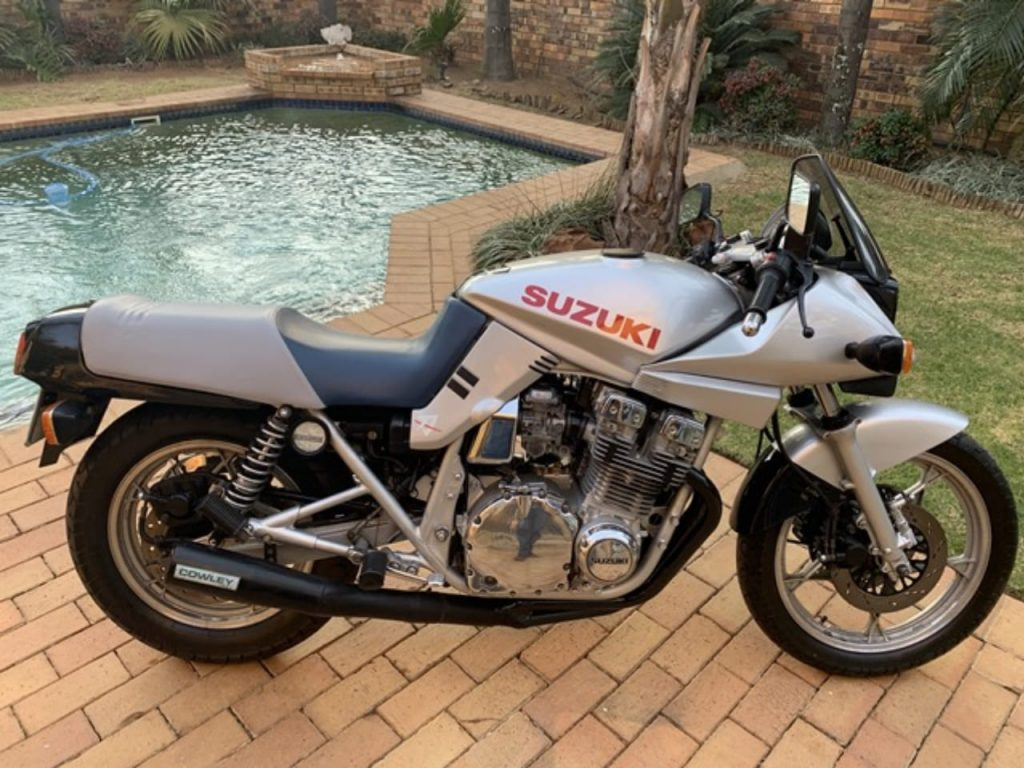 Old Suzuki Katana R.side