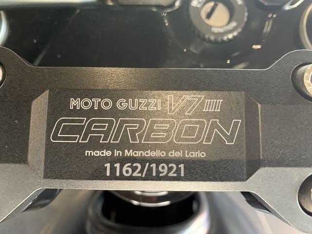 2020 Moto Guzzi V7 III Carbon Plaque