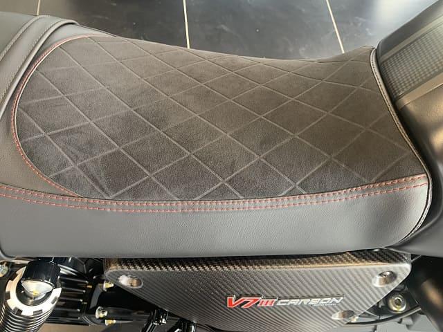 2020 Moto Guzzi V7 III Carbon Seat