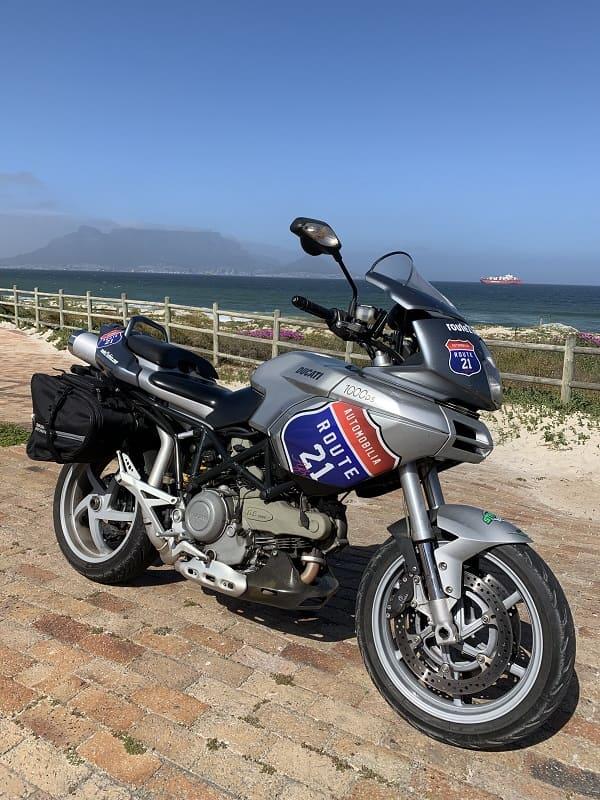R21 bike in CT Table Mountain
