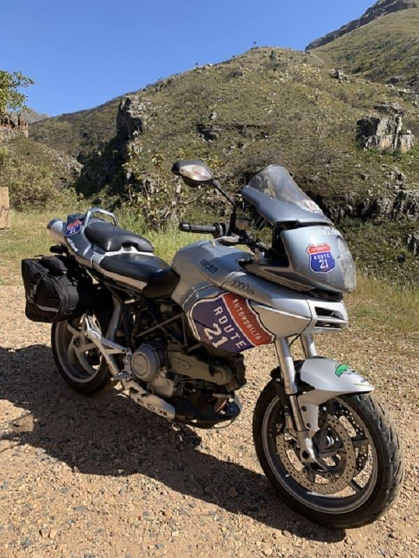 R21 bike in Cape Mountain Passes