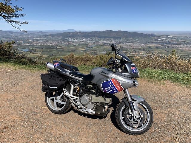 R21 bike on Cape Mountains
