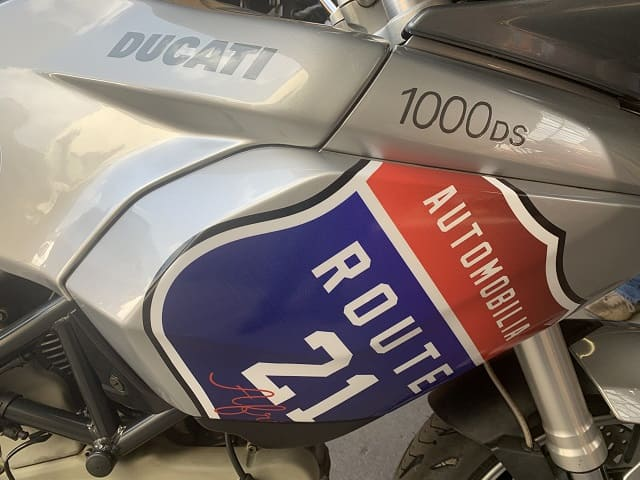 R21 bike signage